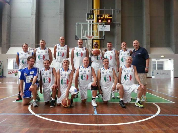 campionato master basket over finale alassio  new jesi bergamo