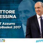 Ettore Messina allenatore dell'Italia ad Eurobasket 2017