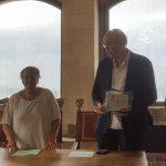 La Luciana Mosconi Globo Campetto Ancona premiata dal sindaco